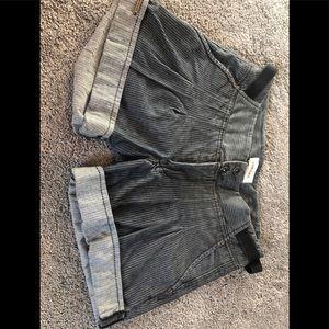 Diesel Gray Jean shorts